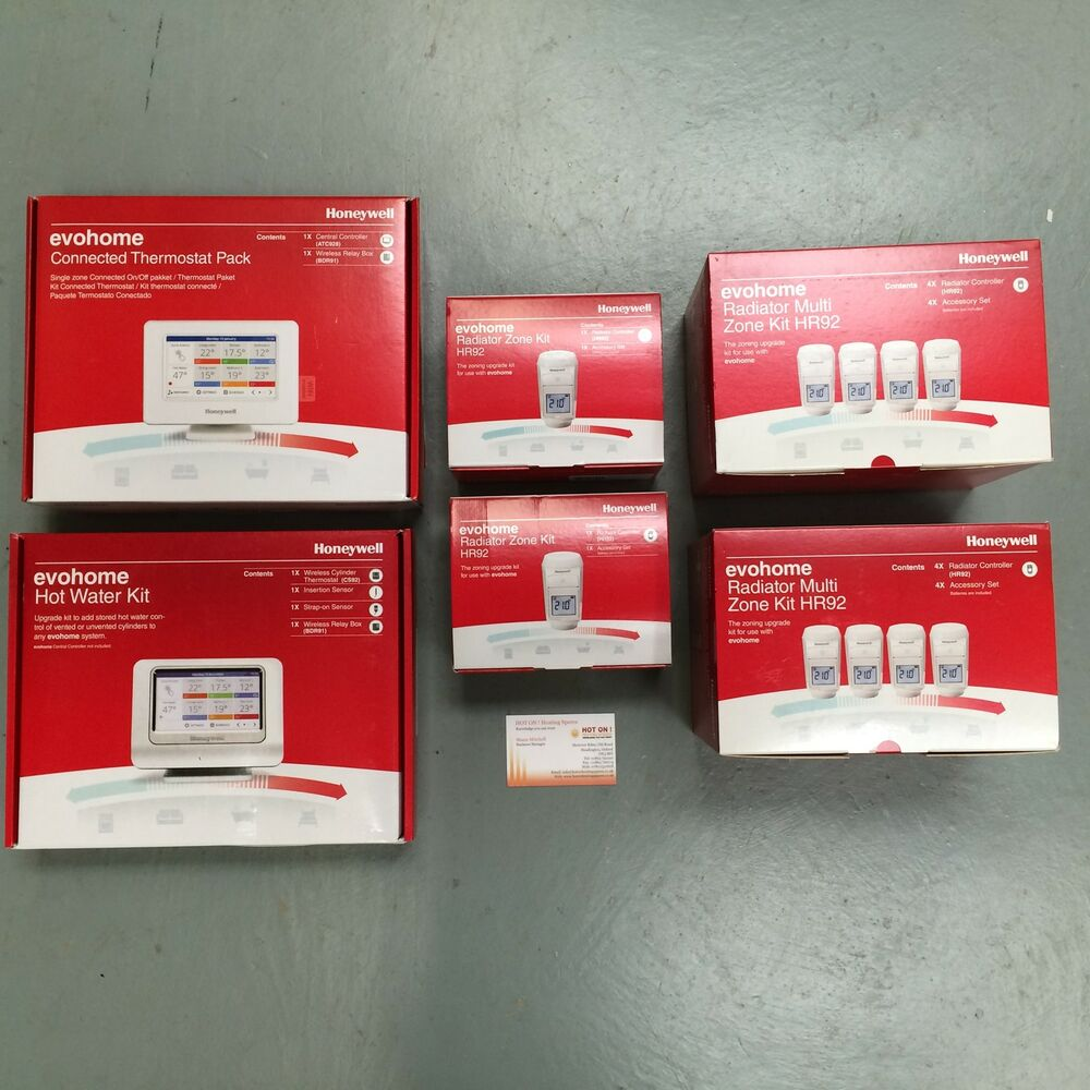 Honeywell Evohome Connected Thermostat SUPER MEGA Value ...