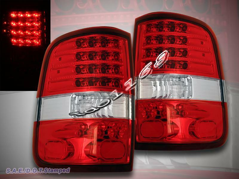 2004 2008 ford f150 styleside red clear led g2 tail. Black Bedroom Furniture Sets. Home Design Ideas