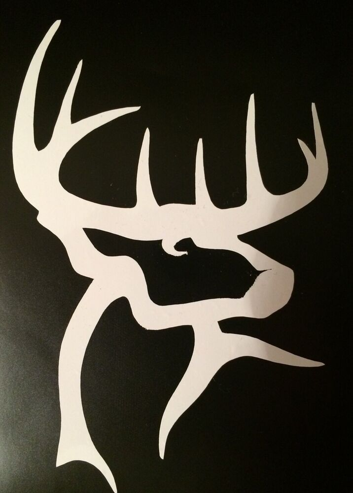 Buck Commander 2 Pack White Decal 4 Quot X 6 25 Quot Free