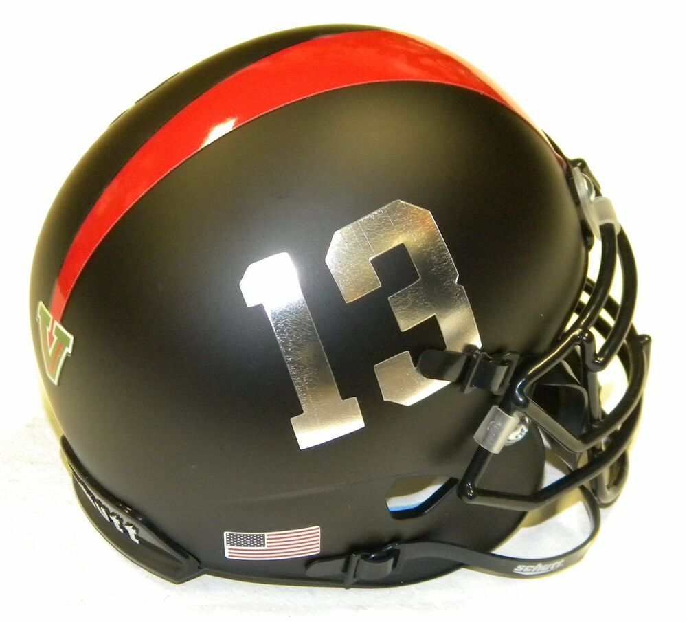 bulldog helmet fresno state bulldogs black 13 ncaa schutt football team 5501