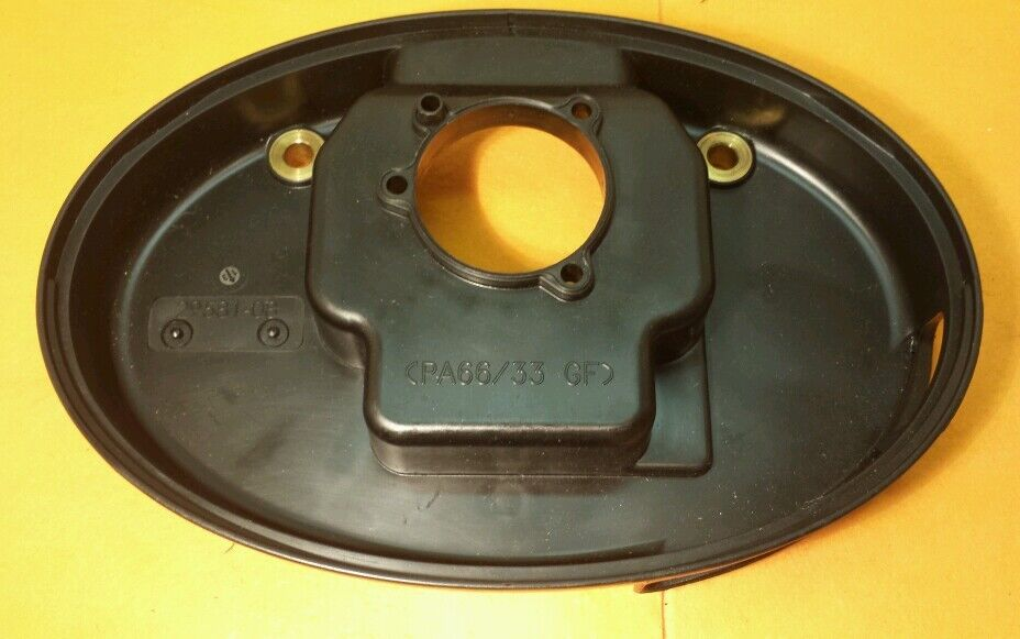 Softail Air Cleaner : Harley davidson air cleaner backplate softail fatboy