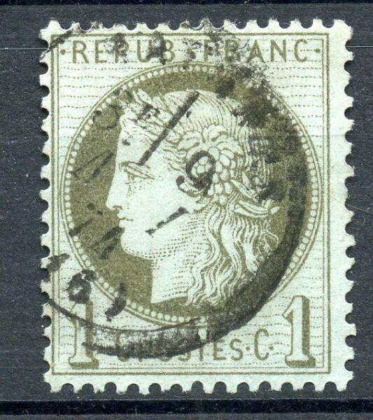 STAMP / TIMBRE FRANCE CLASSIQUE OBLITERE N° 50