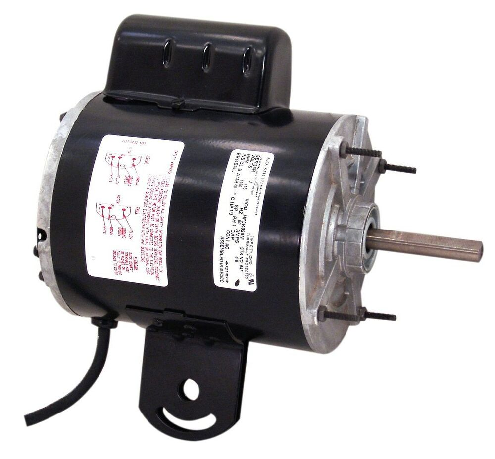 647a 1 3 hp 1100 rpm new ao smith electric motor ebay for Ao smith 1 1 2 hp pool motor