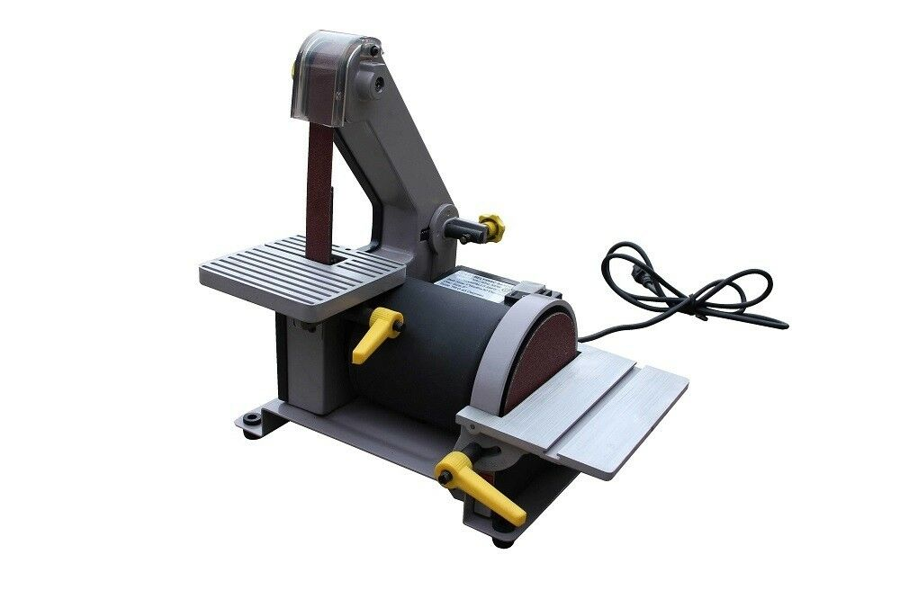 1 X 30 Belt And 5 Disc Sander Tabletop Wood Sanding Woodworking Free Shipping Ebay