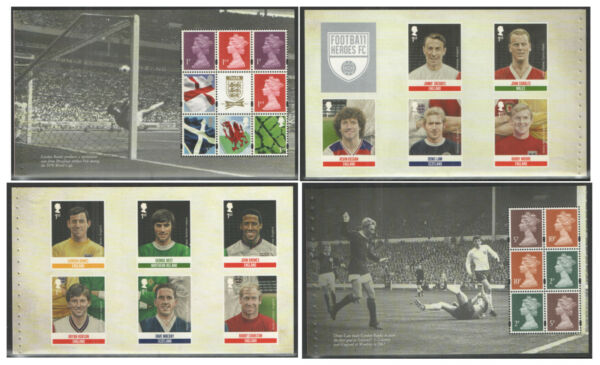 Individual Panes from DY7 / DB5(59) 2013 Football Heroes Prestige Booklet