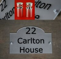 House Number Sign/Plaque Frosted Acrylic Traditional Modern Contemporary Plastic