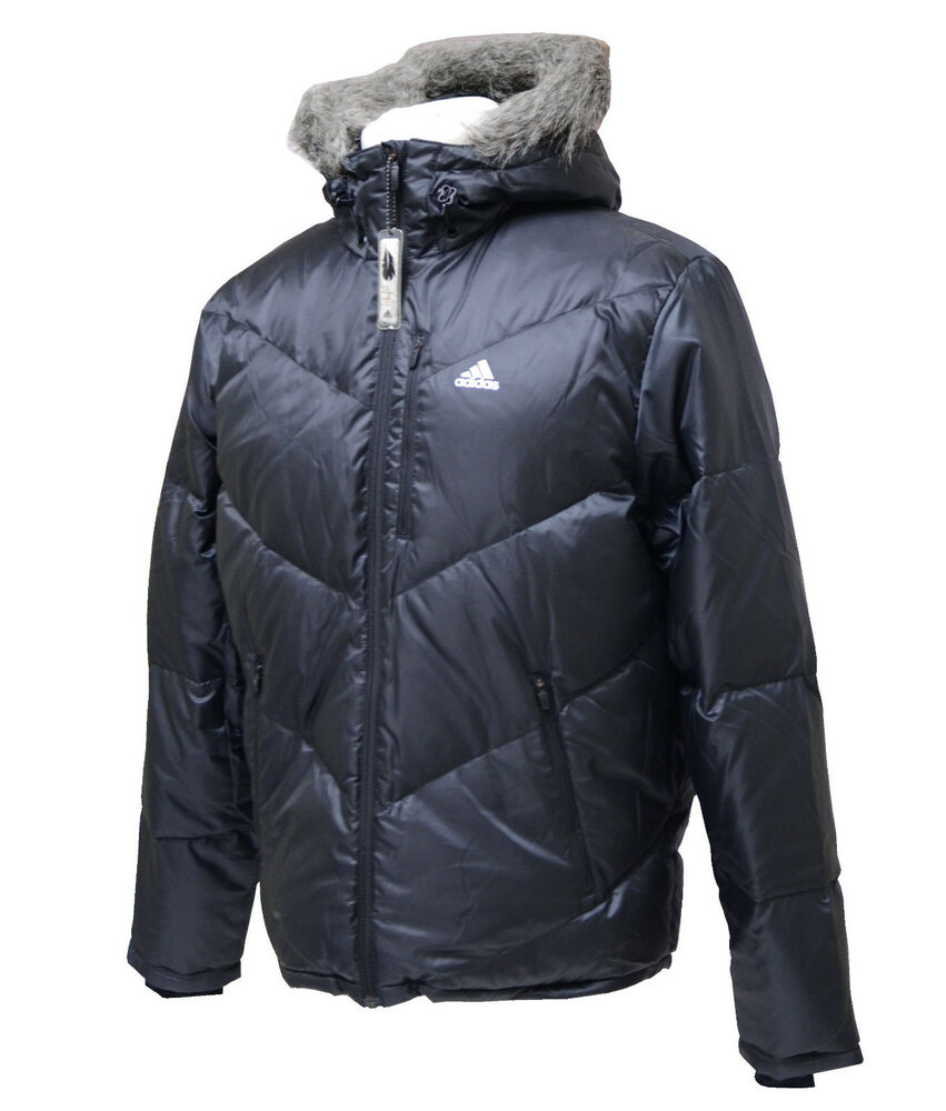 adidas downbomber down jacket jacke daunenjacke herren daunen winterjacke ebay. Black Bedroom Furniture Sets. Home Design Ideas