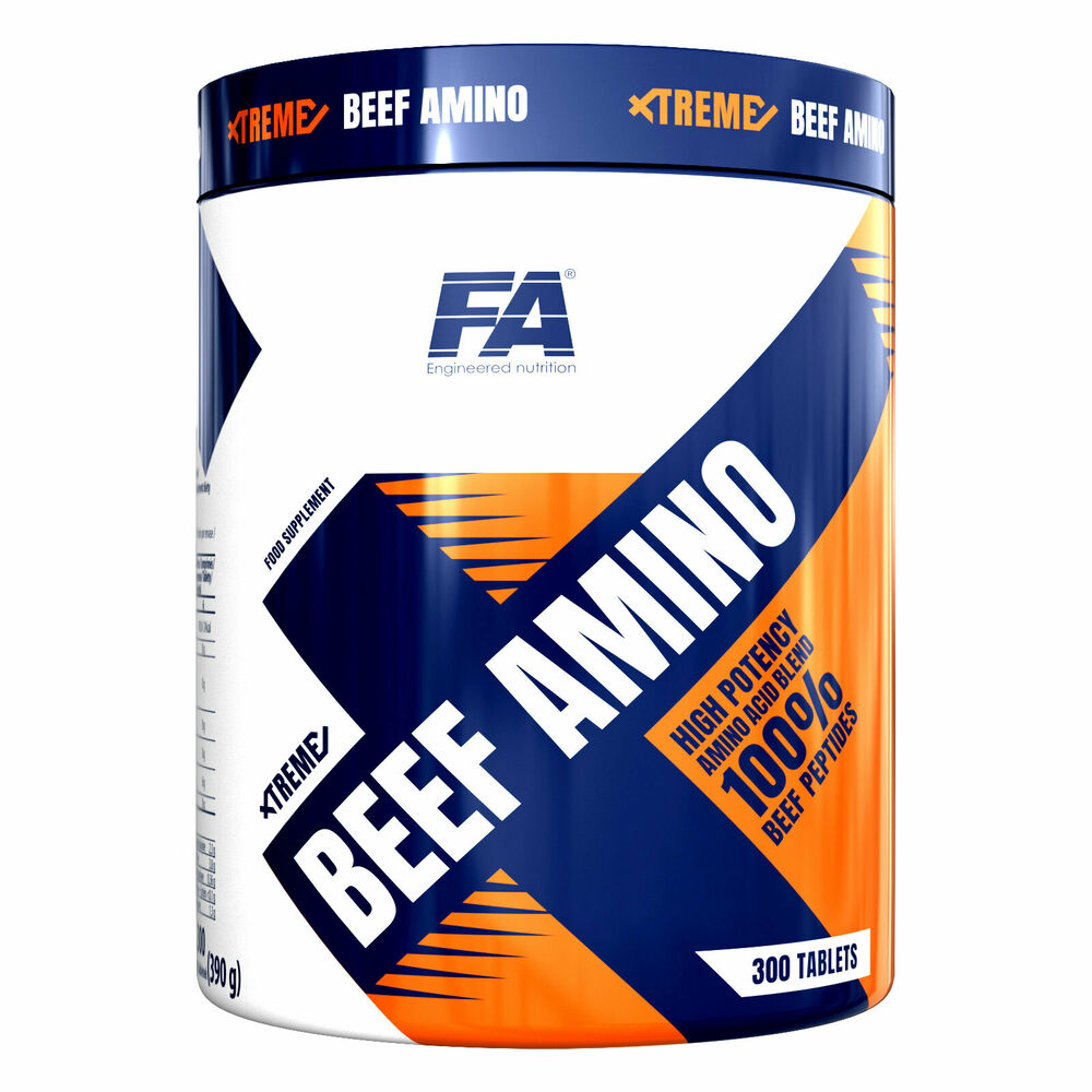 XTREME BEEF AMINO 300 Tablets Essential Acids Anabolic ...