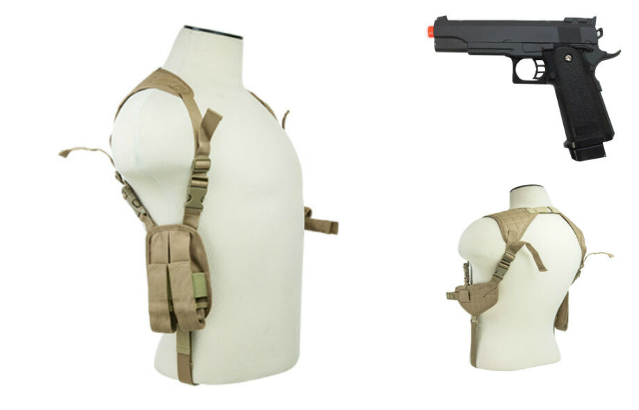 how to make a shoulder holster for a costume