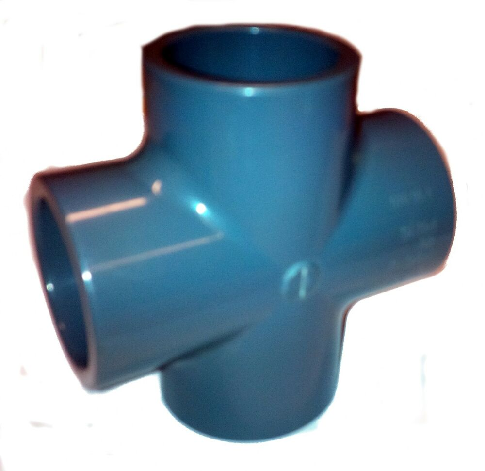 pvc pipe cross solvent weld glue 20mm 25mm 32mm 40mm 50mm 63mm 75mm 90mm ebay. Black Bedroom Furniture Sets. Home Design Ideas