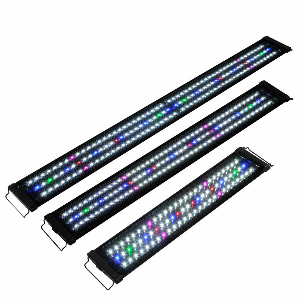 24 36 48 multi color led aquarium light 0 5w full spec. Black Bedroom Furniture Sets. Home Design Ideas