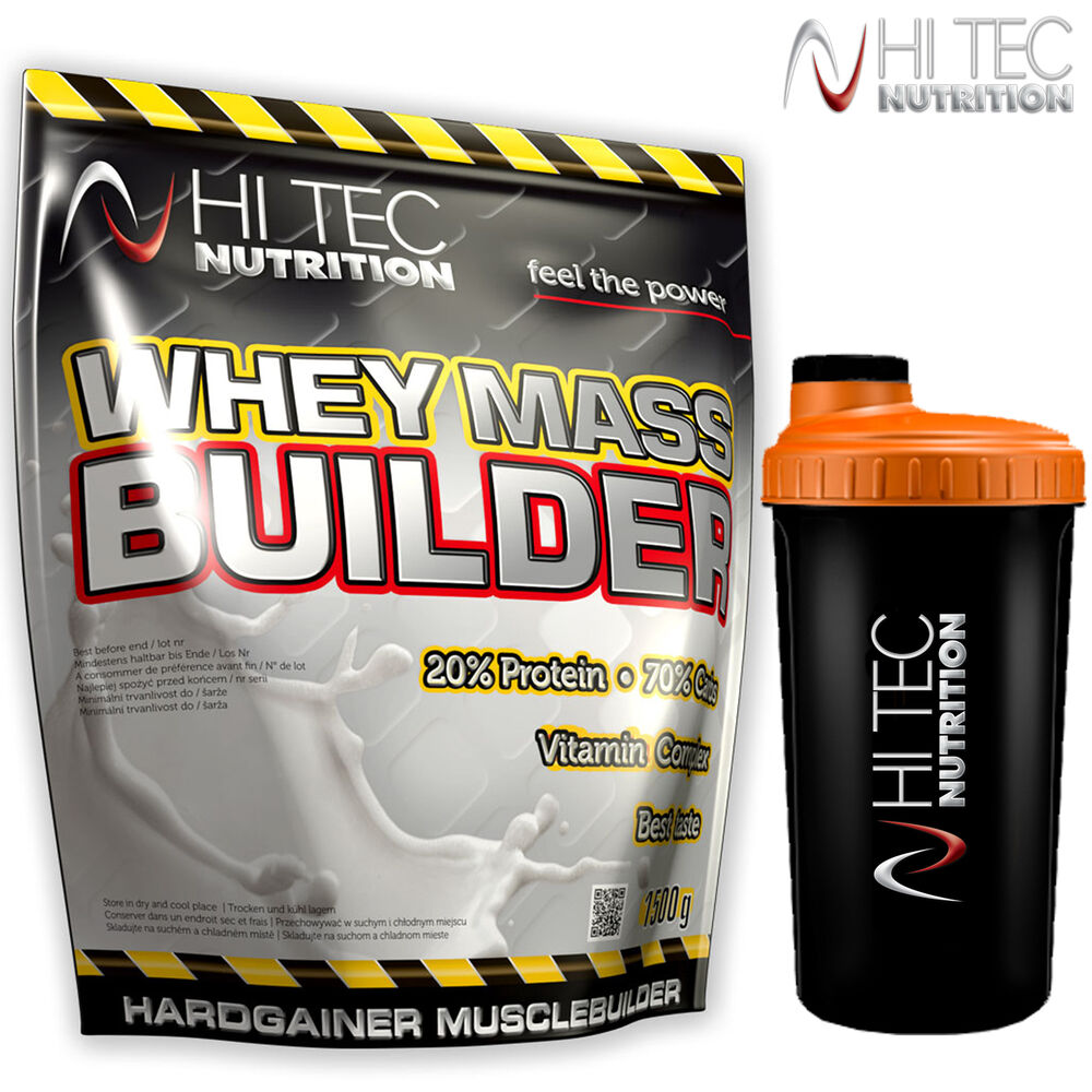 WHEY MASS BUILDER 1500/3,3lb FAST WEIGHT GAIN Protein