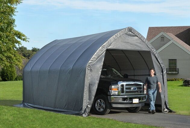10 20 Portable Garages And Shelters : Garage in a box free engine image for user