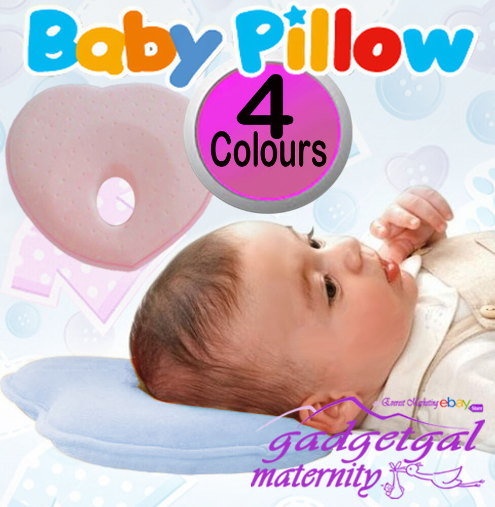 Newborn New Baby Infant Pillow Memory Foam Prevent Flat