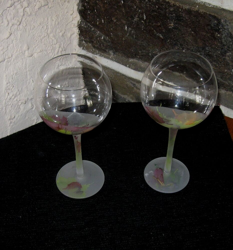 cool wine glasses unique design frosted wine glasses color to clear goblets 29996