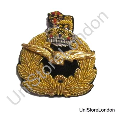 img-Badge Air Rank with Queen's Crown Beret Badge R1467