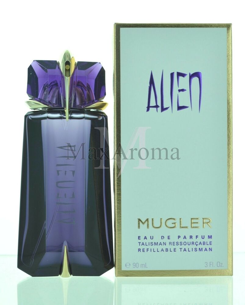 alien by thierry mugler refillable for women eau de parfum 3 oz 90 ml spray 3439602802113 ebay. Black Bedroom Furniture Sets. Home Design Ideas