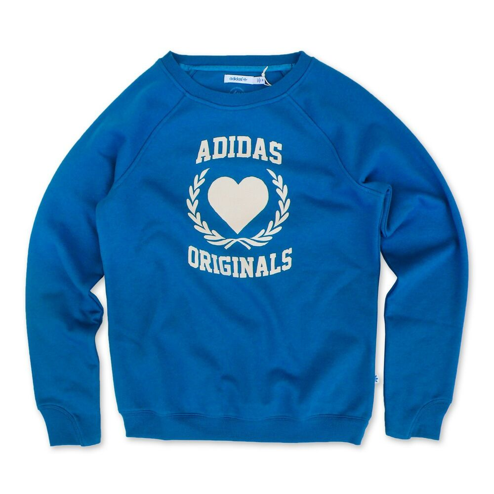 adidas originals college sweater damen retro sweatshirt. Black Bedroom Furniture Sets. Home Design Ideas