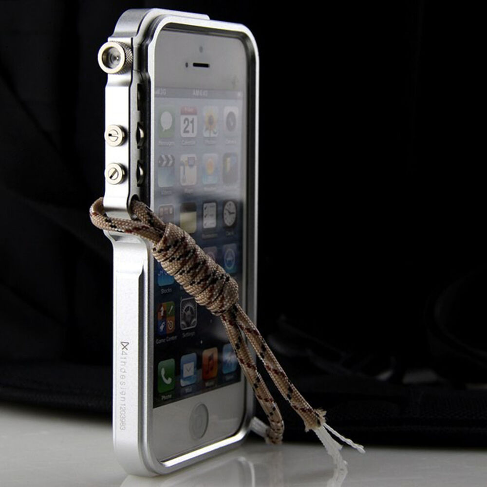 iphone bumper case cool s metal frame bumper trigger cover for apple 11665