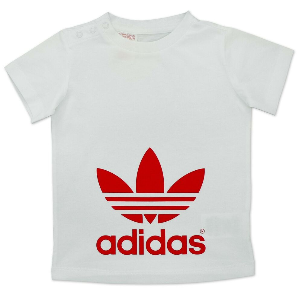 adidas originals kinder trefoil tee jungen t shirt. Black Bedroom Furniture Sets. Home Design Ideas