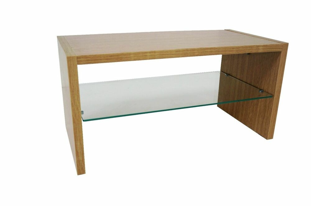 oak effect coffee table madison range 40cm x 40cm x 80cm