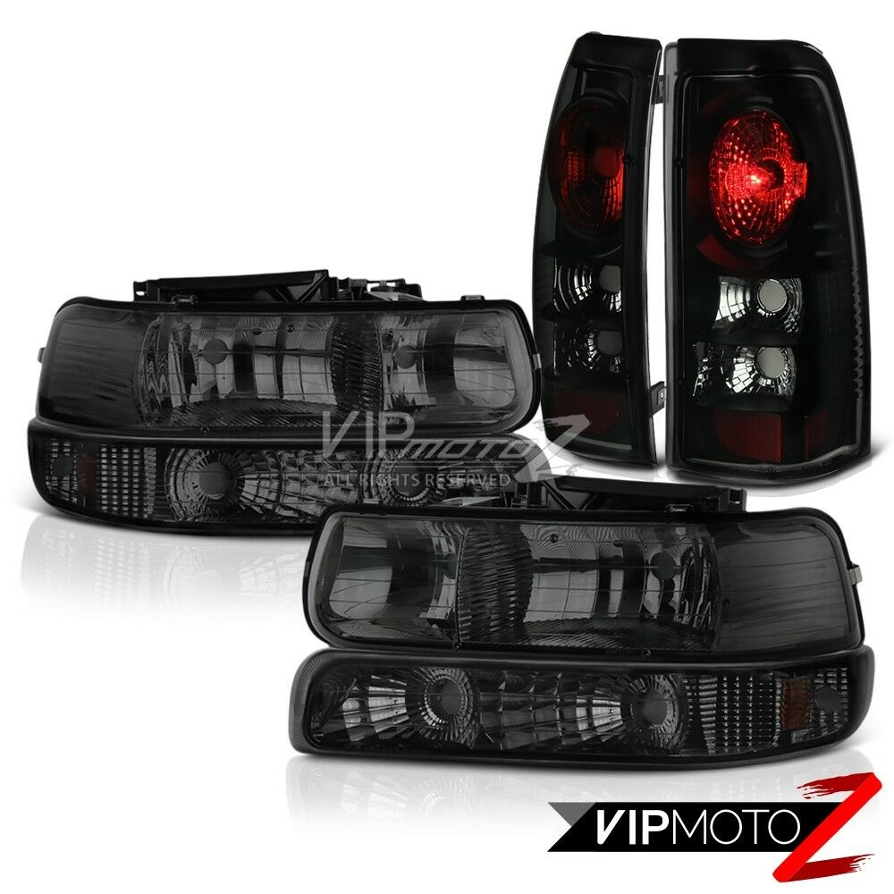 1999 2002 chevy silverado parking signal lights sinister black lights ebay