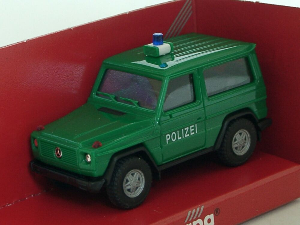 herpa mercedes g modell polizei 1 87 ebay. Black Bedroom Furniture Sets. Home Design Ideas
