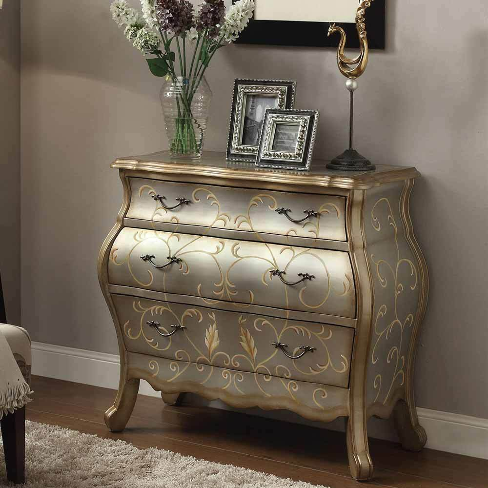 Vanas Elegant Hallway Console Sofa Table Bombay Chest 3
