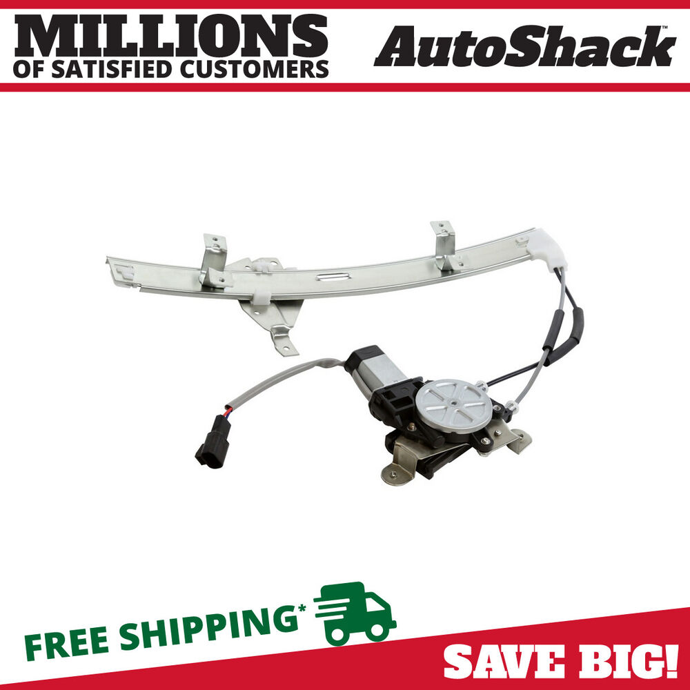 New power window regulator w motor front driver side fits for 2000 buick lesabre window regulator replacement
