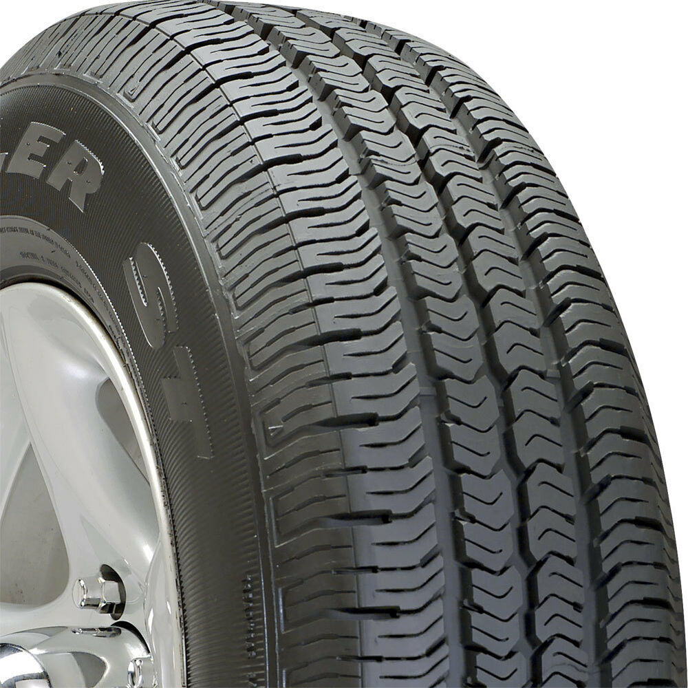 1 new p225 75 16 goodyear wrangler st 75r r16 tire 30215. Black Bedroom Furniture Sets. Home Design Ideas