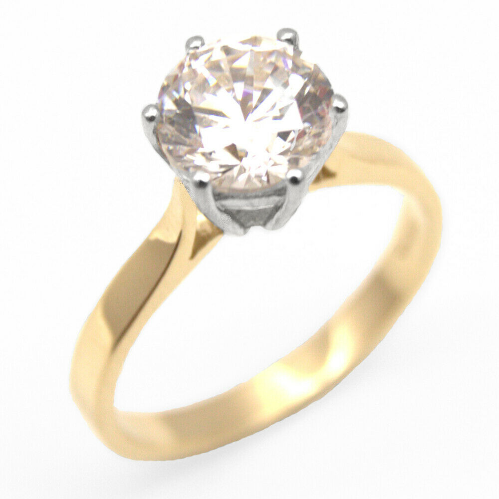 Diamond Solitaire Rings Ebay