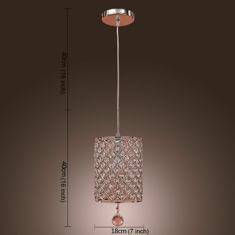 Luxury Modern Crystal Ceiling Light Pendant Lamps