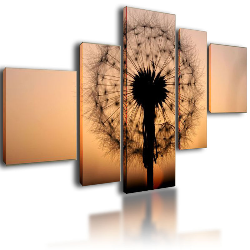 Wall Art Split Canvas : Xl parted canvas picture wall art split multi panel framed