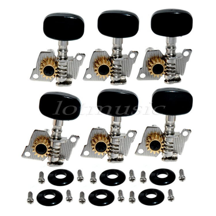 6l guitar string tuning pegs machine heads tuners keys for classical parts ebay. Black Bedroom Furniture Sets. Home Design Ideas