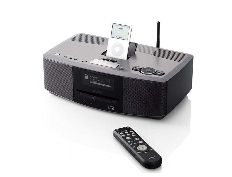 denon s52dab wifi cd player music hifi system ipod dock. Black Bedroom Furniture Sets. Home Design Ideas