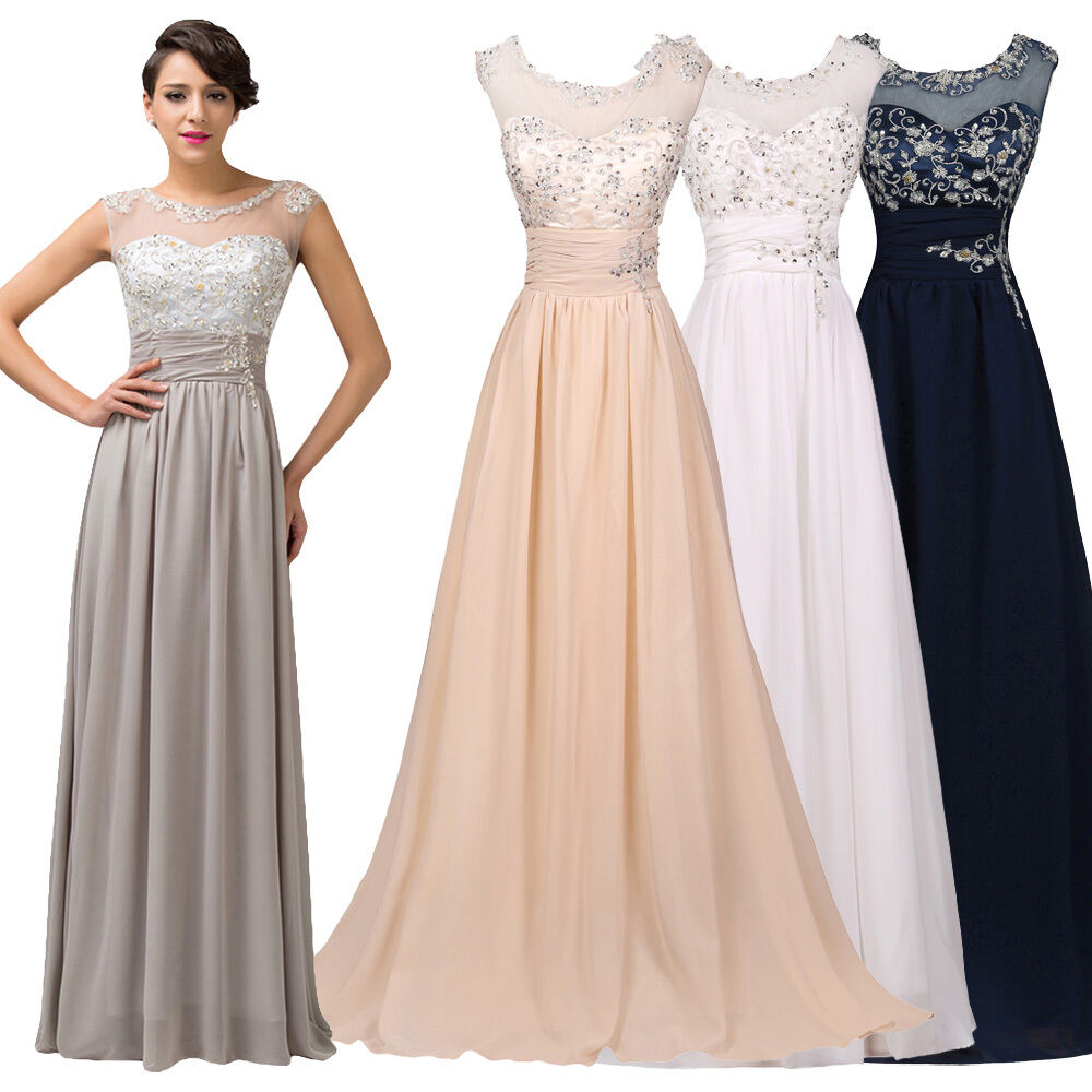 Long Gowns For Wedding Guests: LONG Mother Of The Bride/Groom Formal Evening Wedding