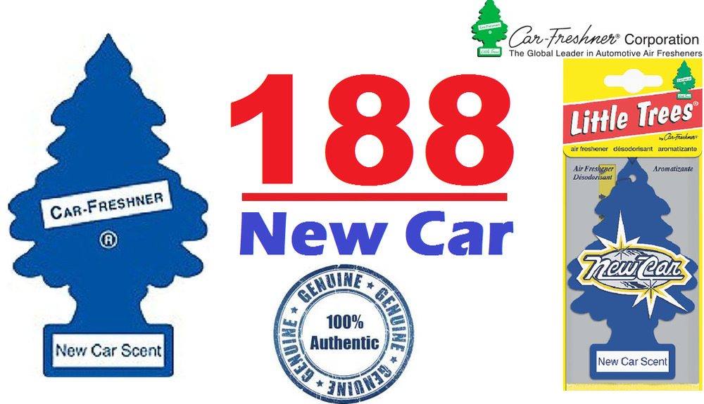 New Car Smell Air Freshener: 168 X NEW CAR SCENT MAGIC LITTLE TREE CAR/HOME/VAN/OFFIC