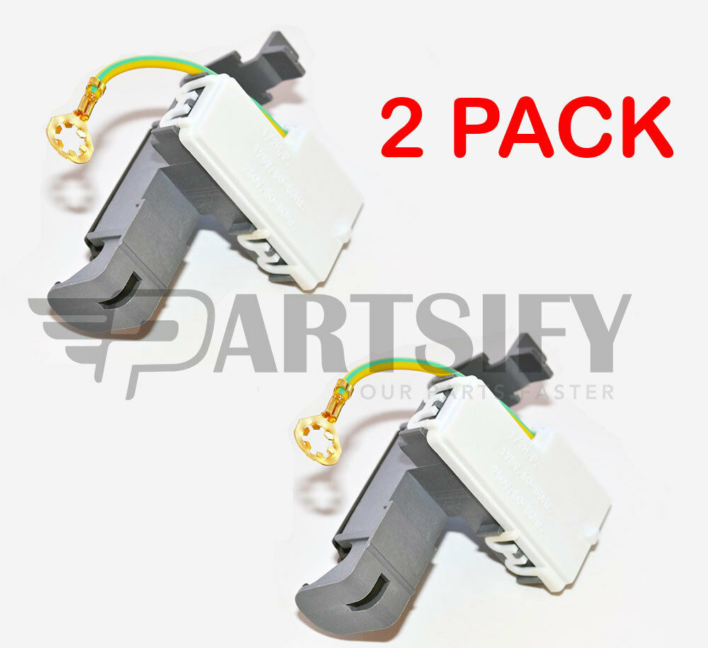2 Pack 8318084 Ap3180933 Ps886960 New Washer Door Lid Switch Fits Wtw5900sw0 Whirlpool Automatic Parts And Diagrams Ebay