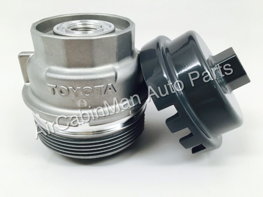 NEW GENUINE TOYOTA Oil Filter Housing Cap Holder 15620-31060 and Tool WRENCH | eBay