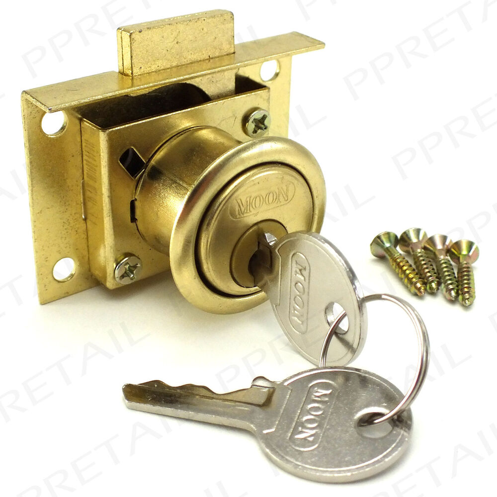 cabinet door lock quality brass drawer lock kit 2 cabinet cupboard 12816