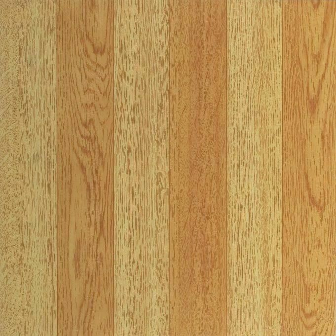 Light Oak Plank Wood Self Stick Adhesive Vinyl Floor Tiles
