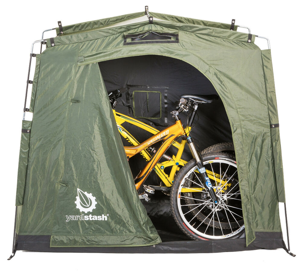 The yardstash iii bicycle storage outdoor storage ebay Outdoor bicycle