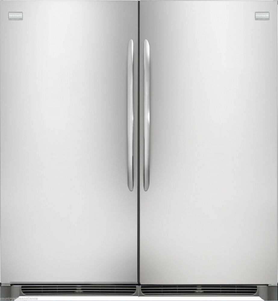 Frigidaire Gallery Stainless Refrigerator Amp Freezer Combo