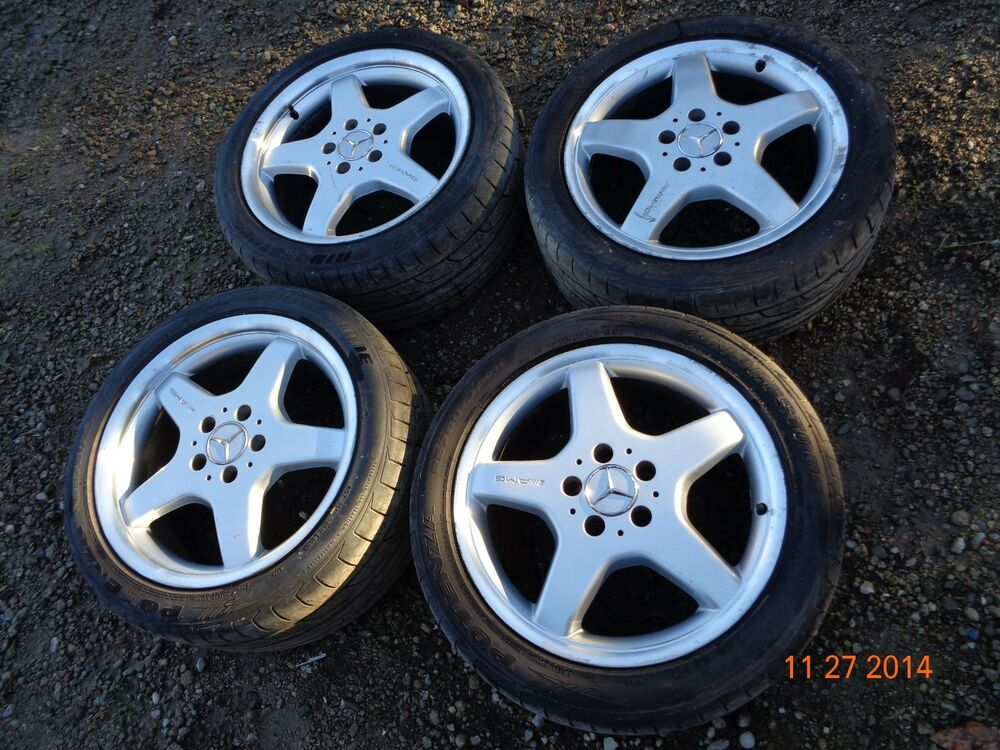 1999 2002 mercedes benz w208 oem clk430 amg 17 wheels for Rims and tires for mercedes benz