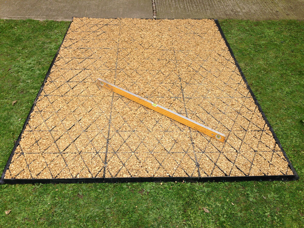 Garden Shed Base Kit 20 X 10 Ft Membrane Greenhouse Base