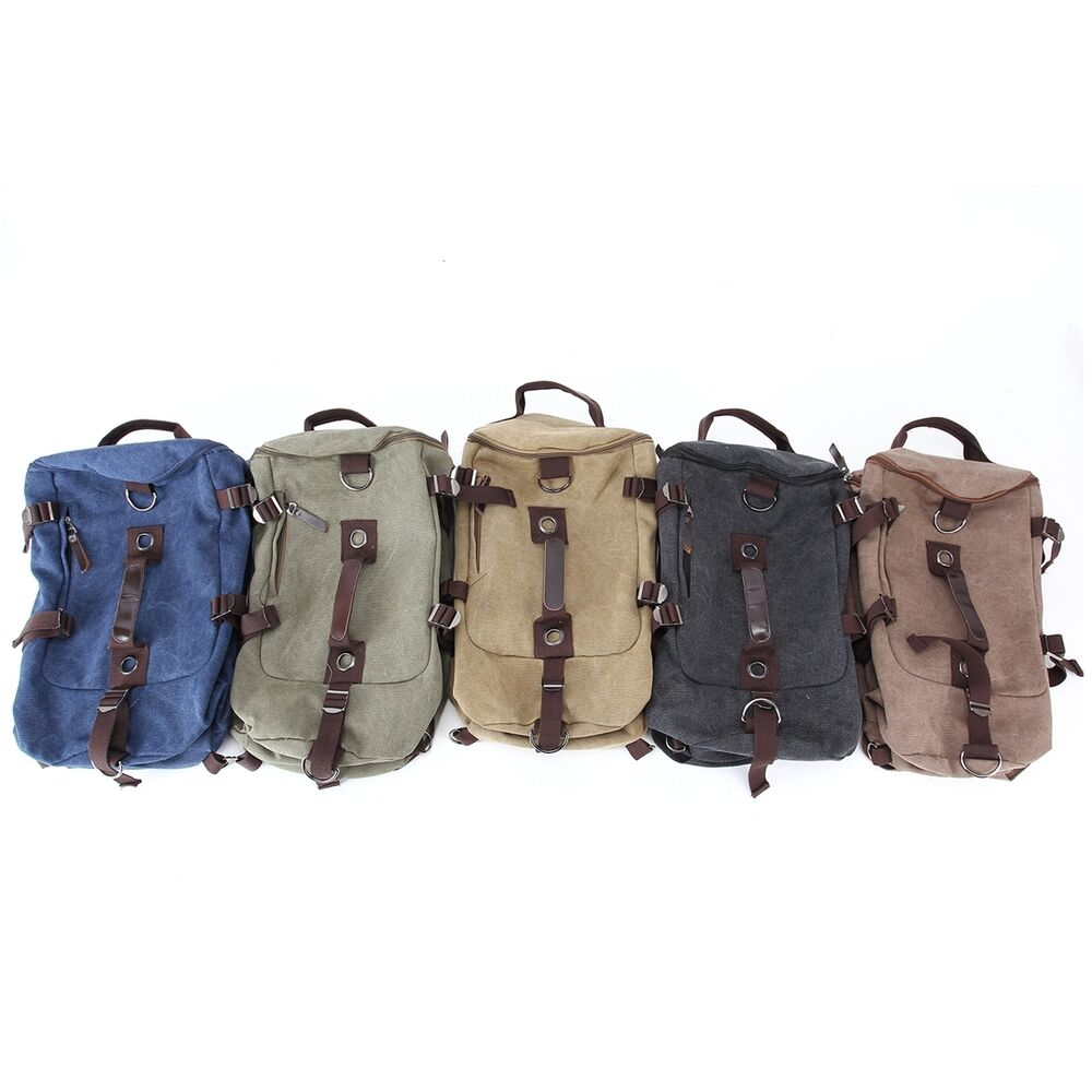 Gym Bag And Backpack: Barrel Bag Travel Men Backpack Multi Color Duffle Bag