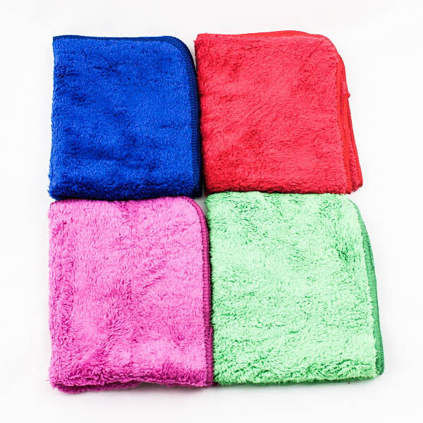 H/Quality Microfiber Cleaning Towels Clothes Car Wash Hand