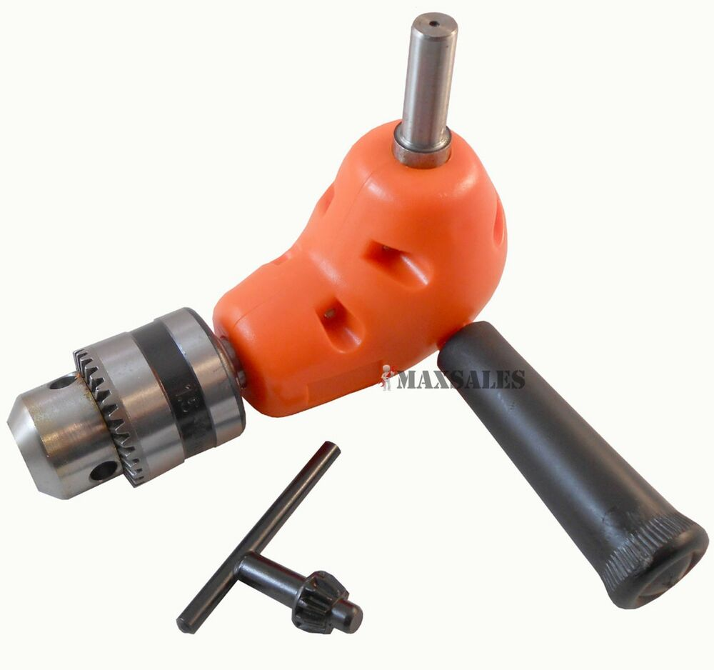 Angle Adaptor Metal Gear 90 Degree Right Angle Drill
