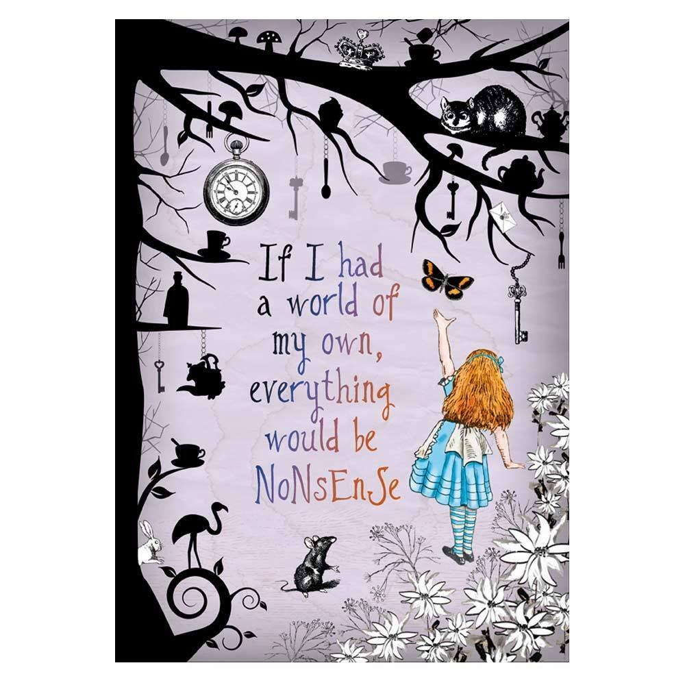 Alice In Wonderland Mad Hatter Quotes: Alice In Wonderland Party / Mad Hatter Tea Party A4 Art
