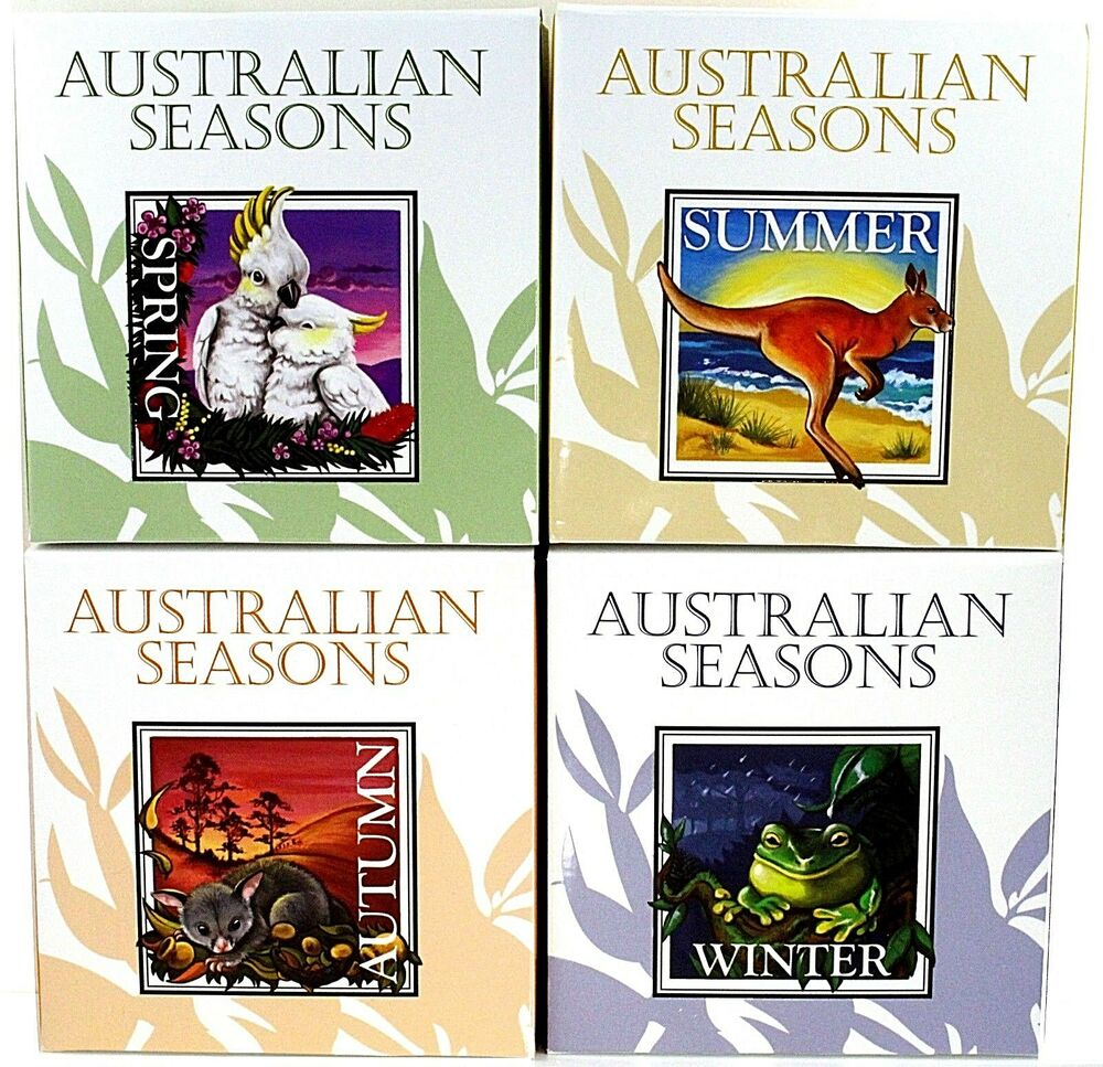 2013 Four Seasons Of Australian 1oz 999 Square Silver